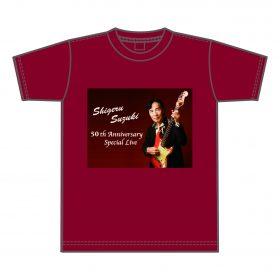 50周年記念 Tシャツ( あずき )¥3,500( 税込 )
