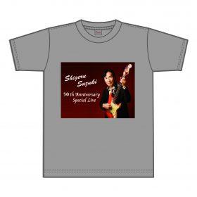50周年記念 Tシャツ( グレー )¥3,500( 税込 )