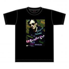 69 Birthday Live Tシャツ( 黒 )¥3,500( 税込)