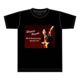 50周年記念 Tシャツ( 黒 )¥3,500( 税込 )